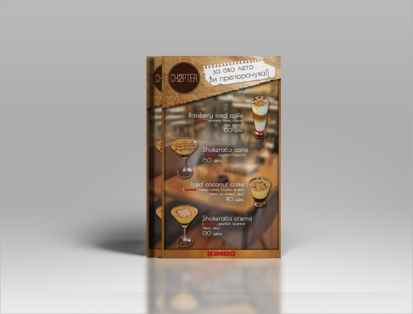 amazing bar flyer template