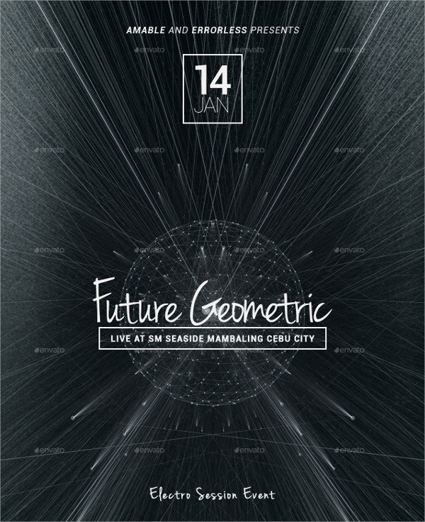future geometric flyer