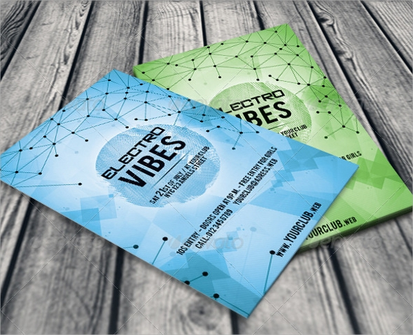 wonderful geometric flyer template