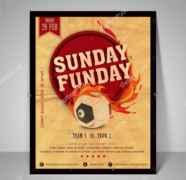 awesome retro flyer template
