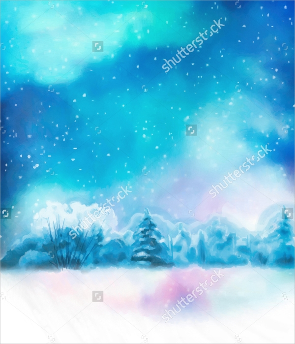 Winter Flyer Template   Download In Vector Eps Psd