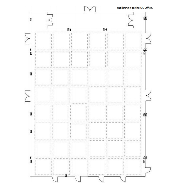 Sample floor plan template 9 free documents in pdf word for Blank floor plan