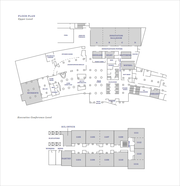 Sample Floor Plan Template   Free Documents In Pdf Word