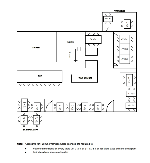 Sample Floor Plan Template - 11+ Free Documents in PDF, Word
