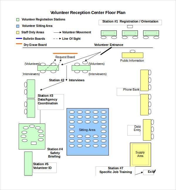 floor plan template doc