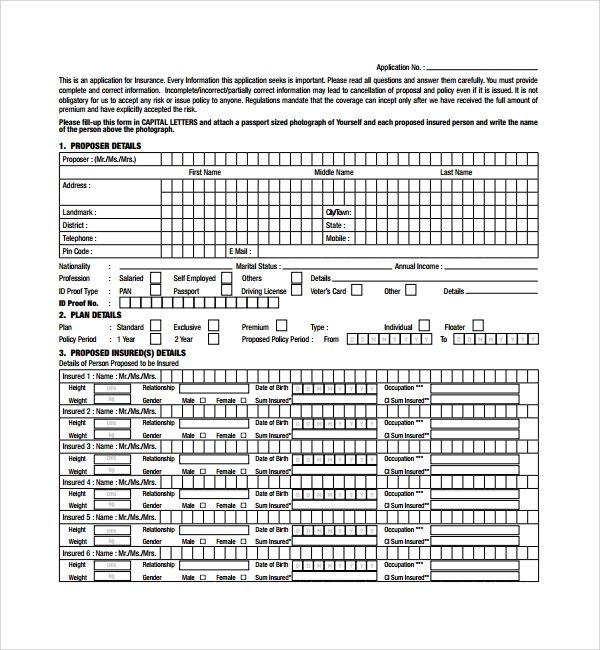 insurance proposal template%ef%bb%bf