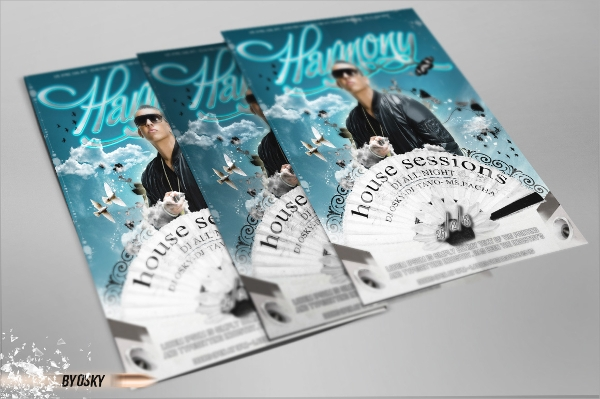 Harmony Flyer Template   Download In Psd Vector Illustrator