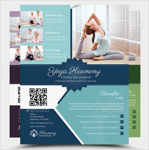 harmony yoga flyer
