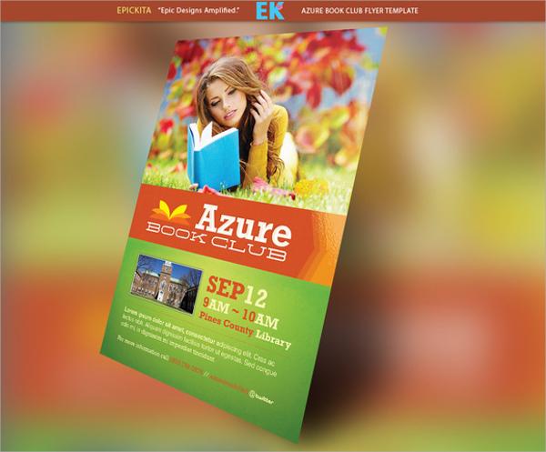Azure Flyer Template 7 Download in PSD – Azure Flyer Template