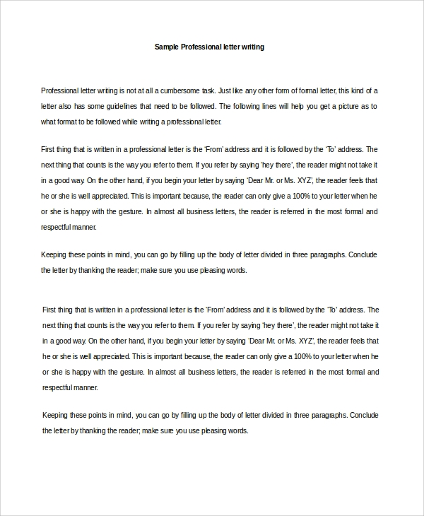Sample letter of recommendation 20 free documents download in letter of recommendation for employment spiritdancerdesigns Image collections