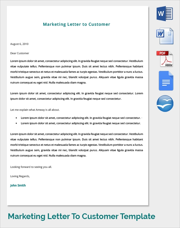 marketing cover letter bundle