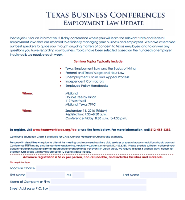 Sample Conference Planning Template   Free Documents In Pdf Word