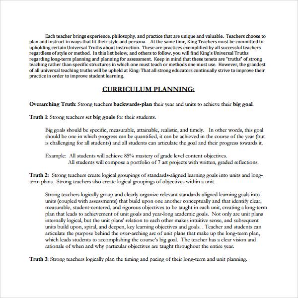 Class Curriculum Template from images.sampletemplates.com