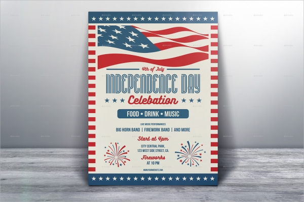 attractive independence day flyer