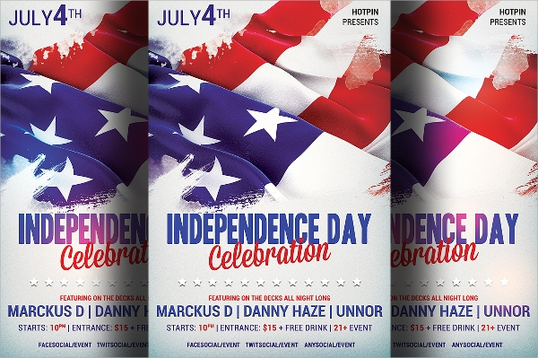 Independence Day Flyer Template   Download In Vector Eps Psd