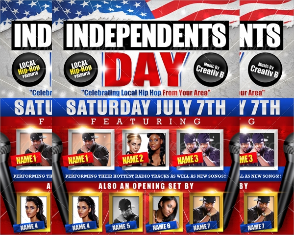 amazing independence day flyer