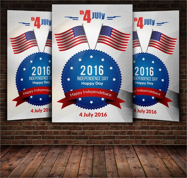 editable independence day flyer