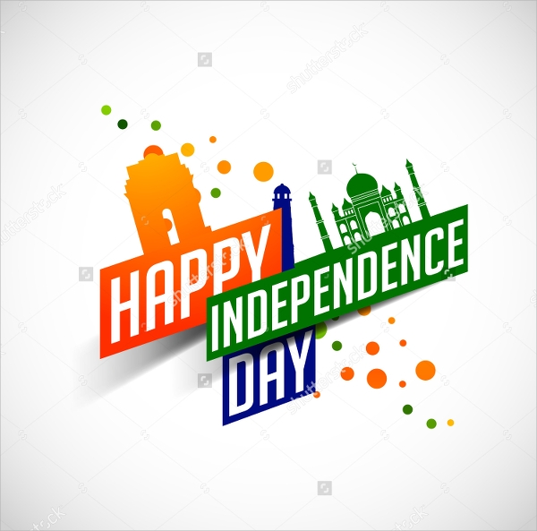independence day flyer design template