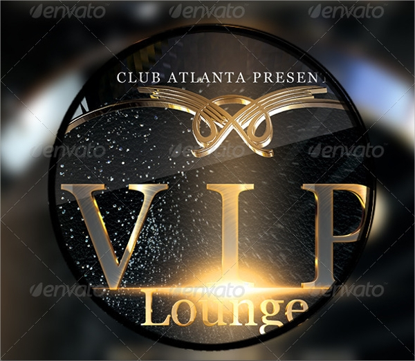 awesome lounge flyer template