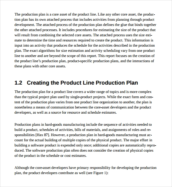 free product plan template1