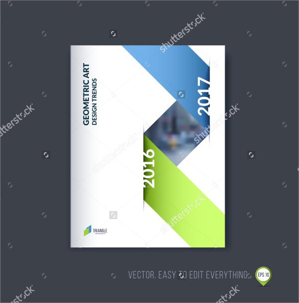 vector illustration technology brochure