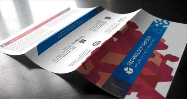 technology tri fold brochure