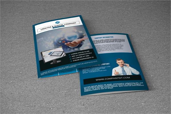 psd technology brochure template
