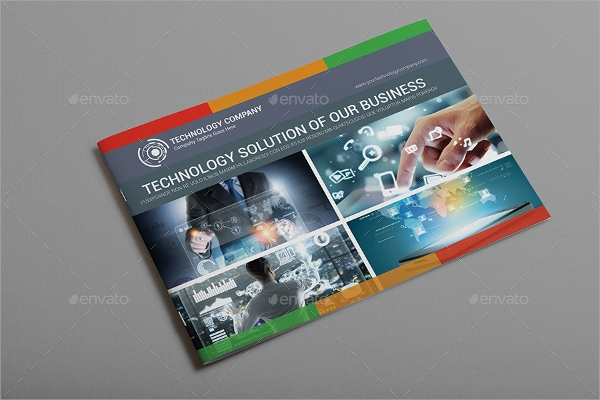 technology company brochure