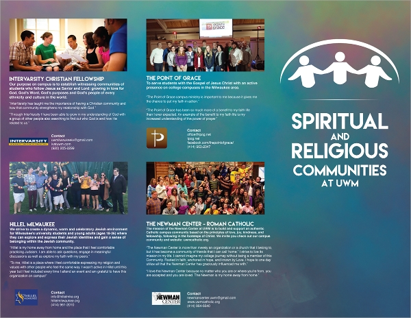 christian brochure templates - 10 religious brochures sample templates