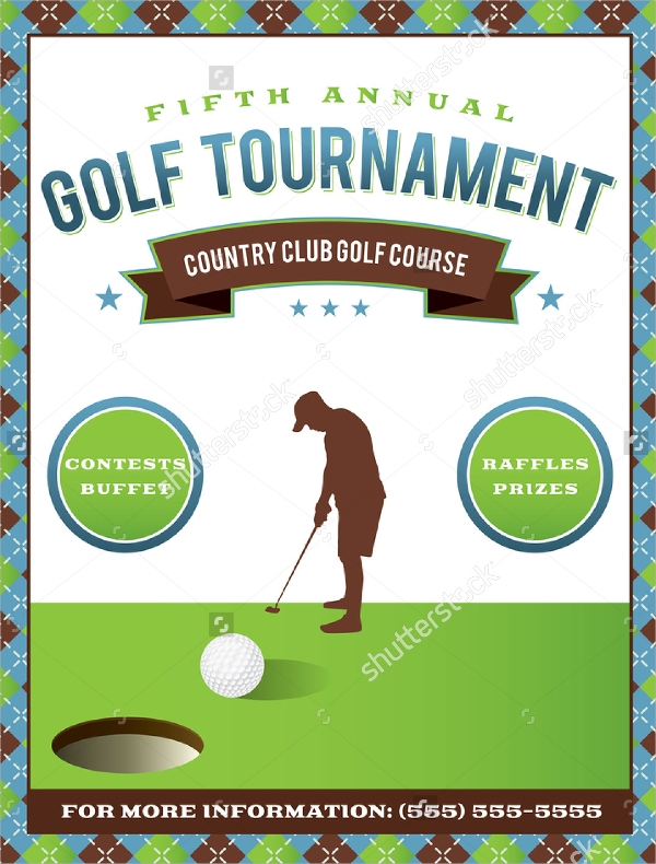 21 golf tournament flyer templates sample templates for Golf tournament budget template