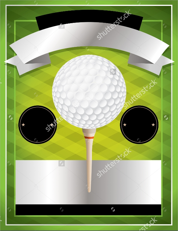 Golf Tournament Flyer Template   20  Download In Vector EPS PSD F9z9e6Jr