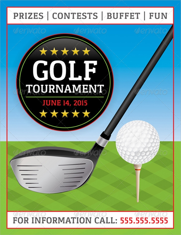 Golf Tournament Flyer Template 20 Download In Vector EPS PSD – Golf Tournament Flyer Template