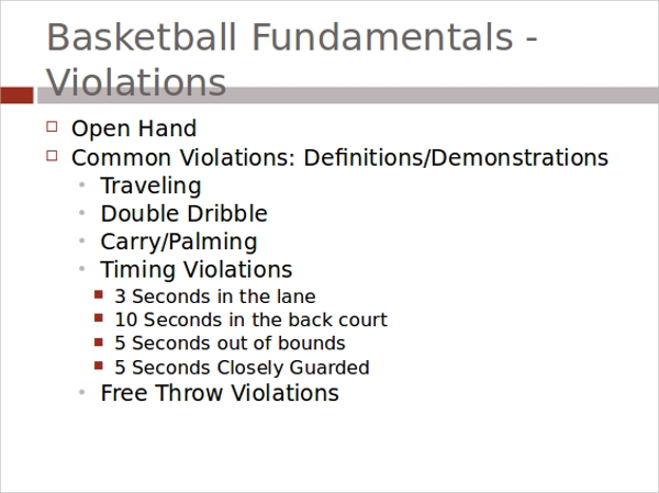8 basketball powerpoint templates sample templates