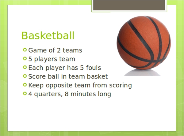 Basketball Ppt  CityEsporaCo