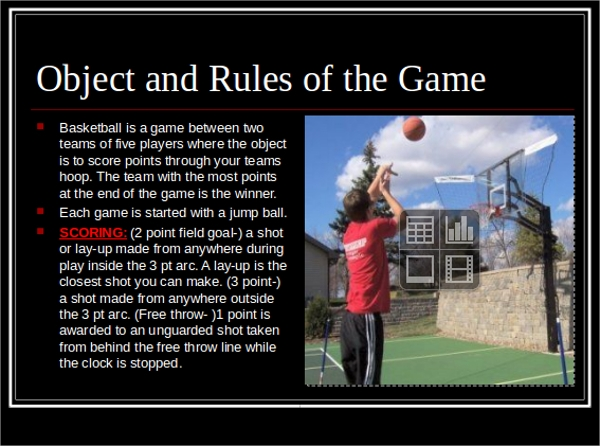 basketball powerpoint ppt