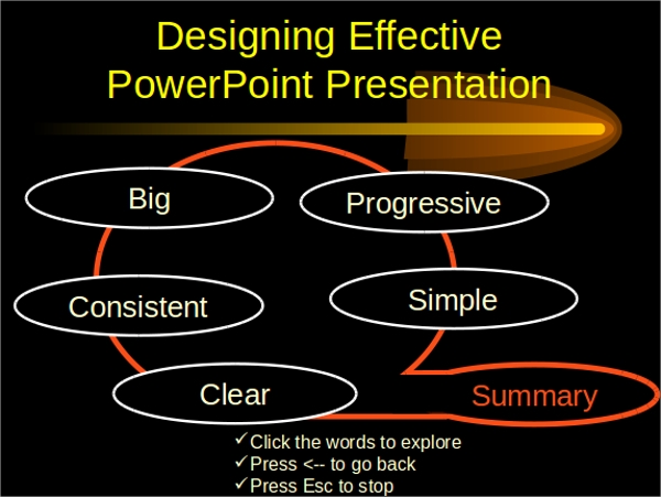 simple elegant powerpoint template