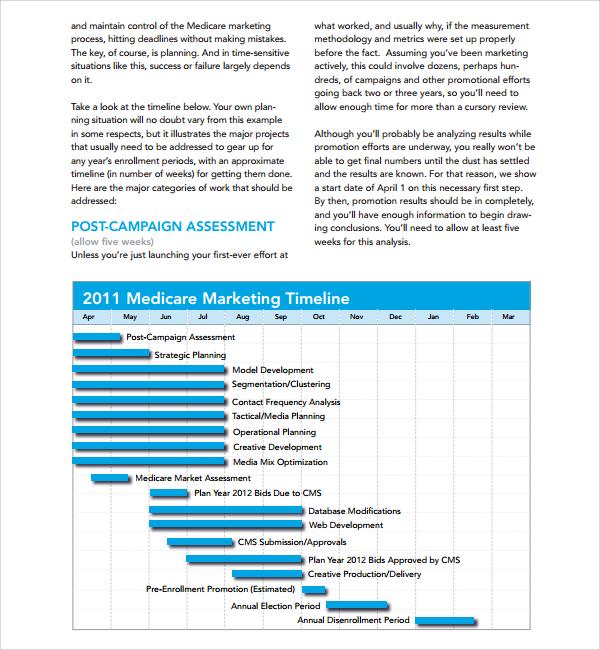 Marketing Timeline Pasoevolistco - Marketing timeline template