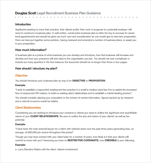 Business plan for recruitment agency pdf