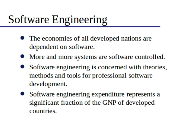 software engineering powerpoint template