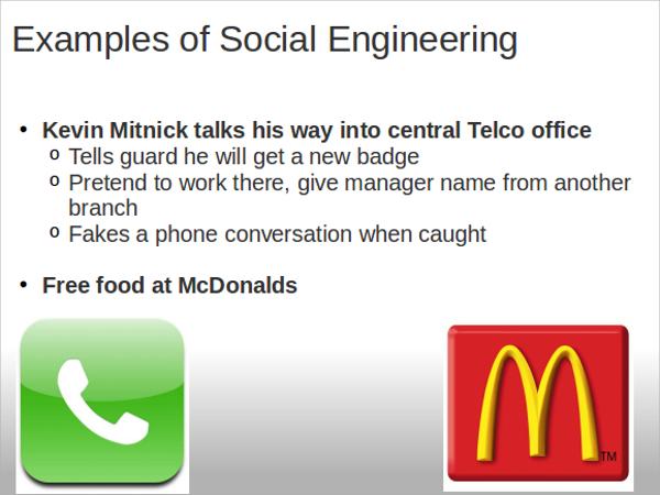 social engineering presentation ppt