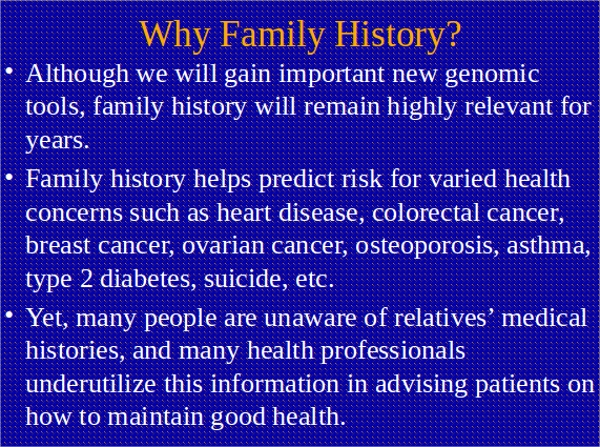 family history powerpoint template