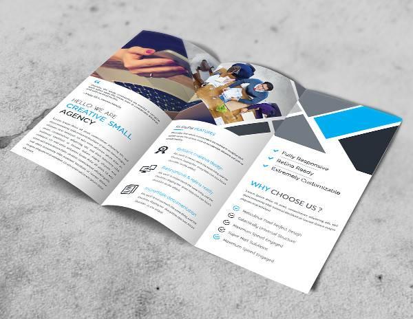 business advertising brochure template1