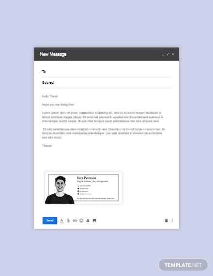 digital marketing emailsignature