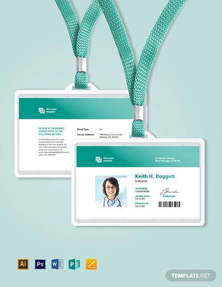 Free 35 Id Card Templates In Psd Eps Ai Ms Word Apple Pages Publisher