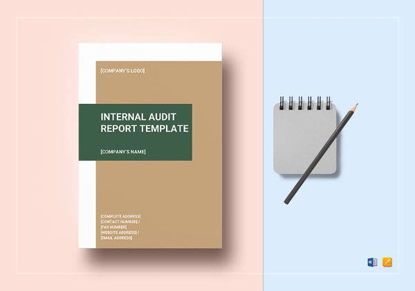 internal audit report template to edit
