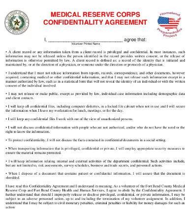 Sample Medical Confidentiality Agreement - 9+ Free Documents