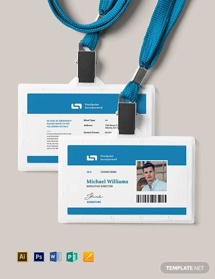 FREE 34+ Amazing ID Card Templates in AI | MS Word | Pages ...