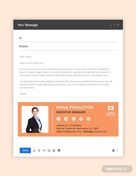 sample marketing agency email signature
