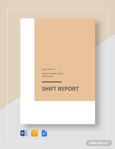 shif report