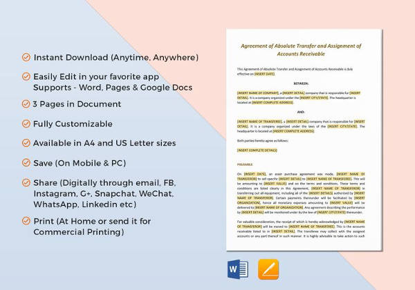 sample business investment agreement 12 free documents download